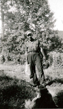 Elbert Wyant coming home from mines-2