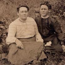 Minnie Laney Padgett and Friend